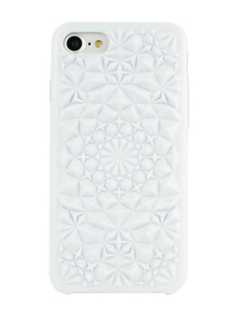 White Kaleidoscope Case
