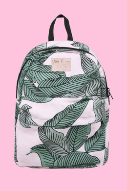 Backpack in Leaves