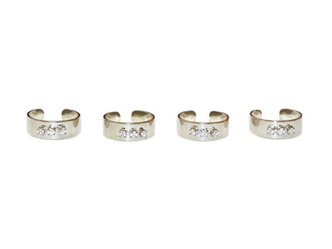 Stardom Midi Ring Set