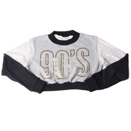 90's Come Back Cropped Sweatshirt
