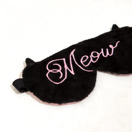 Meow Sleep Mask View 2