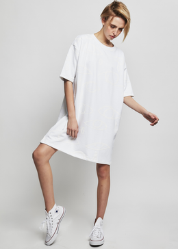 White Tshirt Dress
