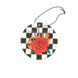 Flaming Rose Air Freshener