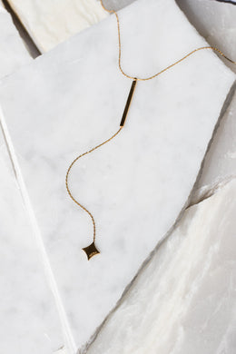 Astra Drop Necklace