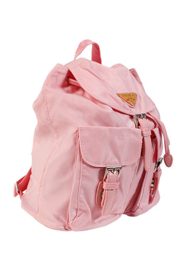 Pink Sports Girl Mini Backpack View 2