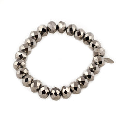 Bliss Bracelet - Platinum Metallic