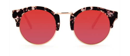 Broadway Sunglasses in Red