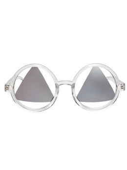 See No Evil Sunglasses in Clear
