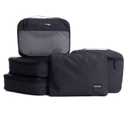 Packing Cube Set - 5 pieces - Black