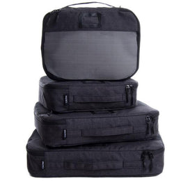 Packing Cube Set - 5 pieces - Black View 2