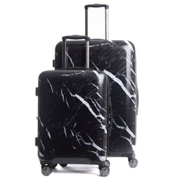 Astyll 2-Piece Luggage Set in Midnight Marble