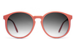 The Human Fly - Matte Coral w/ Grey Gradient Lenses