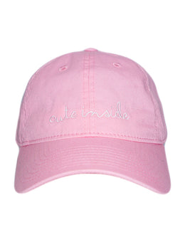 Cute Inside Cap in Pink