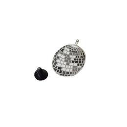 Disco Ball Enamel Pin View 2