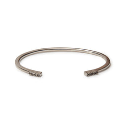 Open Claw Bracelet with Pave