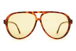 The Nite Shift Glasses in Brown Tortoise