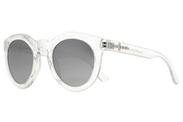 The T.V. Eye - Gloss Silver Glitter w/ Silver Mirror Gradient Lenses View 2