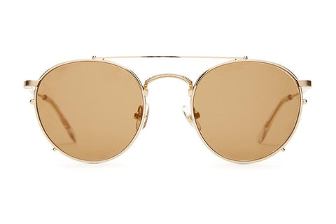The Tuff Safari Sunglasses in Brushed Gold