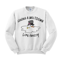 Meltdown Like Frosty Crewneck