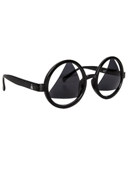 See No Evil Sunglasses in Gloss Black View 2