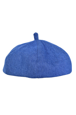 Dark Denim Beret
