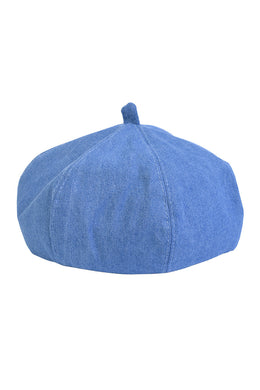 Light Denim Beret