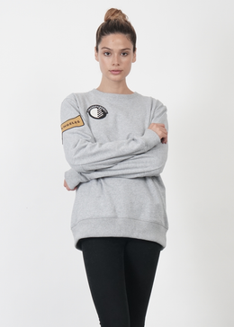 Lucid Unisex Sweater in Grey