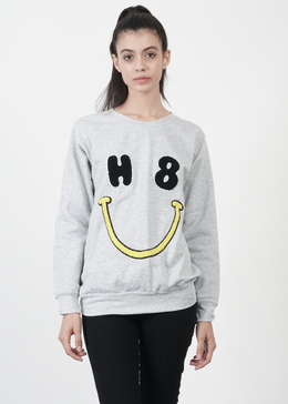 H8 U Smiley Sweatshirt