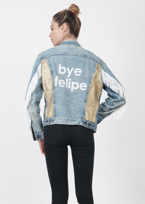 Bye Felipe Vintage Denim Jacket