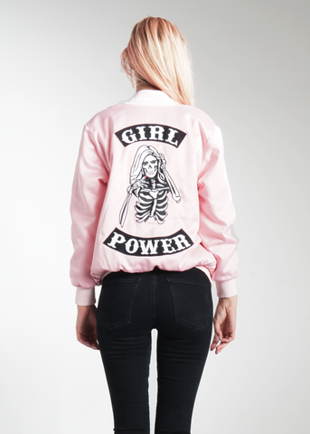 Girl Power Bomber Jacket **Pre-Order, Ships 10/25**