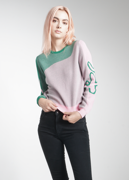 Touch the Cactus Sweater  **Backorder, Ships 2/8** View 2