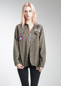 Bad Choices Army Jacket View 2