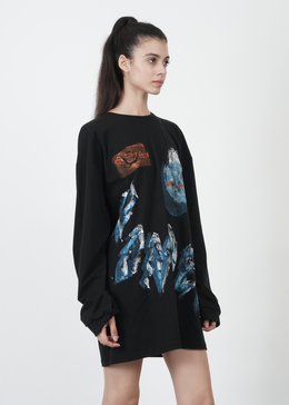 'Wonder' Block Printed Tunic View 2