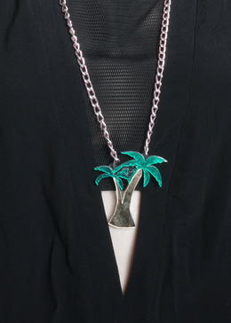 Tropical Palm Necklace