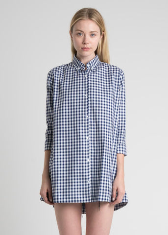 Button Down Gingham Boy Dress