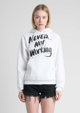 Never Not Working Hoodie View 2
