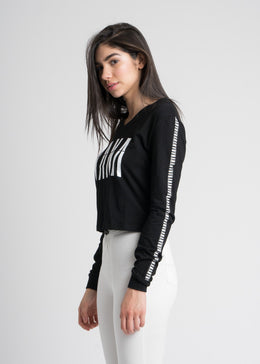 NANA Long Sleeve in Black View 2