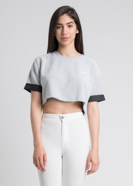 Leesa Crop Top in White