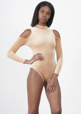La Tirana Cold Shoulder Bodysuit View 2