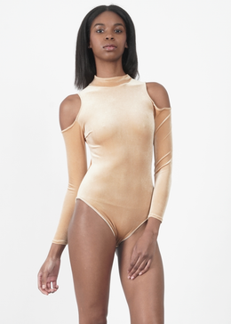 La Tirana Cold Shoulder Bodysuit