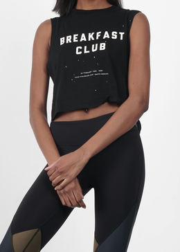 Breakfast Club Crop