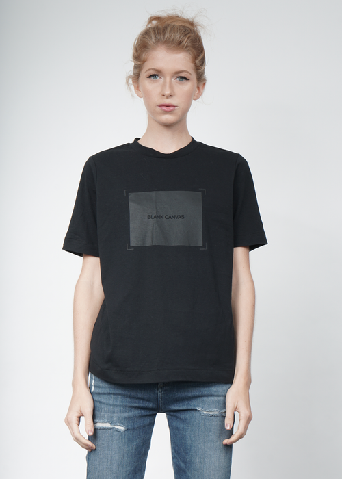 Blank Canvas Tee in Black