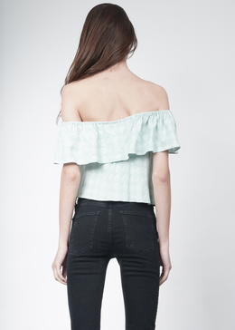Lenore Off-the-Shoulder Ruffle Top View 2
