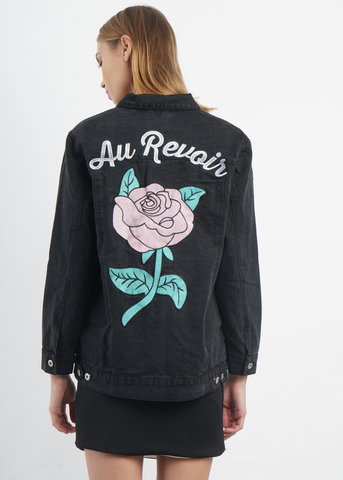Au Revoir Denim Jacket