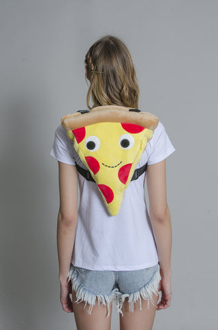 Cheesy Pie Pizza Backpack