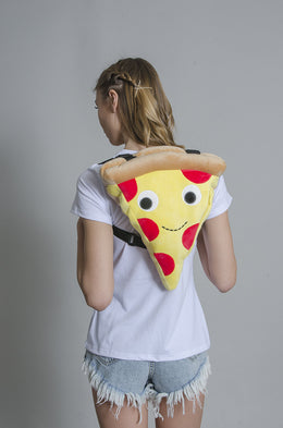 Cheesy Pie Pizza Backpack View 2