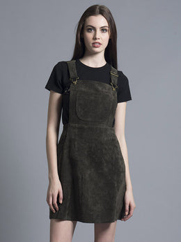 Ella Olive Corduroy Pinafore Dress