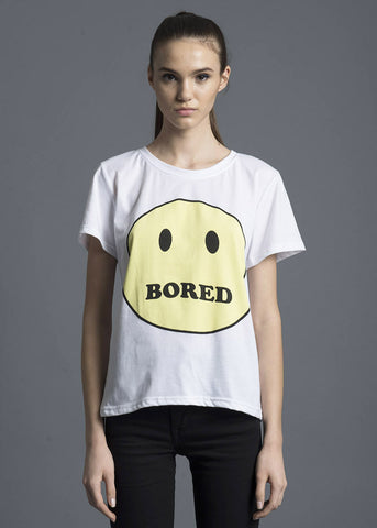 Bored Smiley Tee
