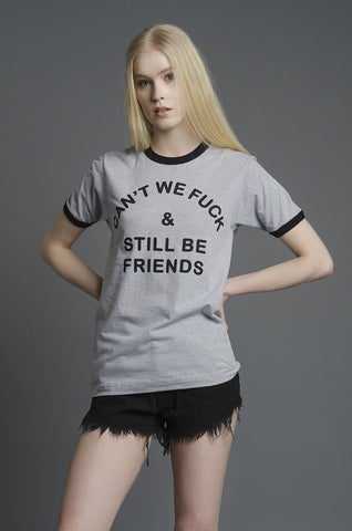 Friendship Ringer Tee