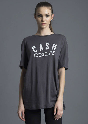 Cash Only Oversized Tee